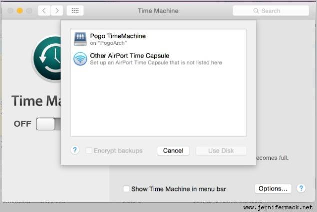 pogo time machine