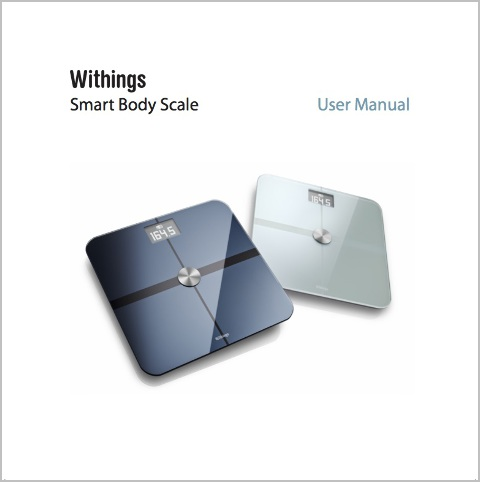 Withings Wi-Fi Smart Body Scale
