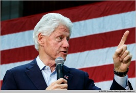 Phoenix, Arizona, USA. 20th March, 2016. Former President Bill Clinton speaks during a campaign rally for Hillary Clinton at Central High School in Phoenix, Arizona ahead of the state primary to be held on Tuesday. © Jennifer Mack/Alamy Live News