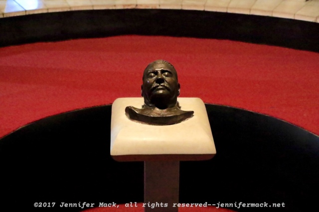 Stalin's death mask.